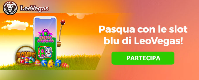 La classifica delle slot blu a LeoVegas
