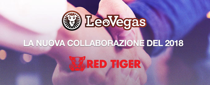 LeoVegas e Red Tiger