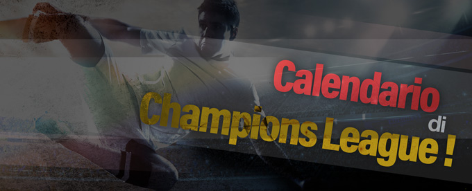 Calendario Partite Champions.Il Calendario Dei Match Di Champions League Leggi Di Piu